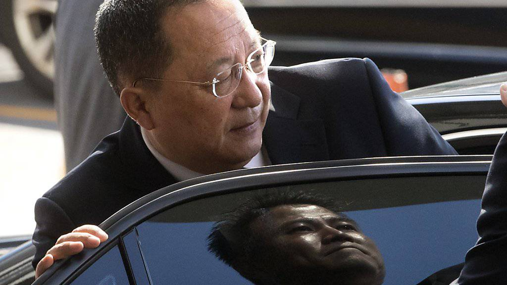 «Mir tun seine Berater leid»: Nordkoreas Aussenminister Ri Yong Ho über US-Präsident Donald Trump.