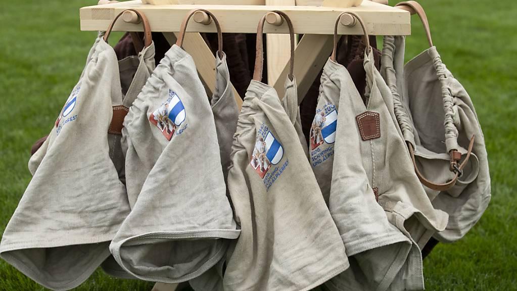 Die Schwinghosen werden im Sommer in Ibach stark genutzt