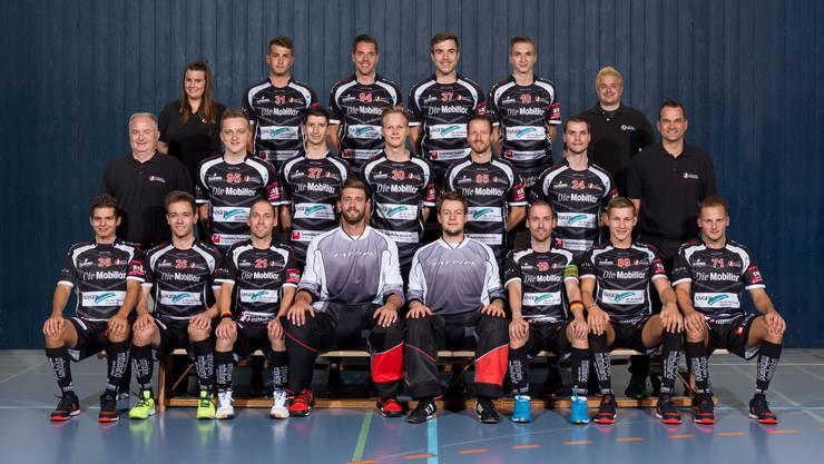 Mannschaftsfofo Unihockey Mittelland NLB