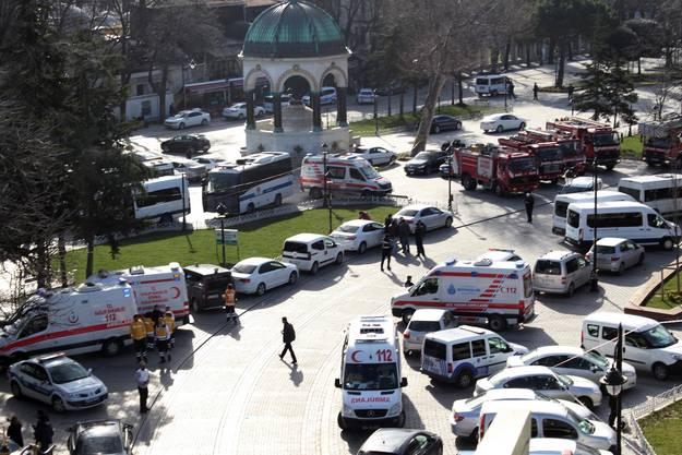 Laut Staatspräsident Recep Erdogan war es ein Selbstmord-Attentat.