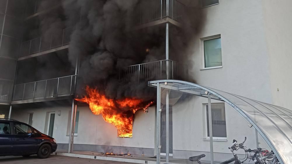 Wohnungsbrand in Zofingen