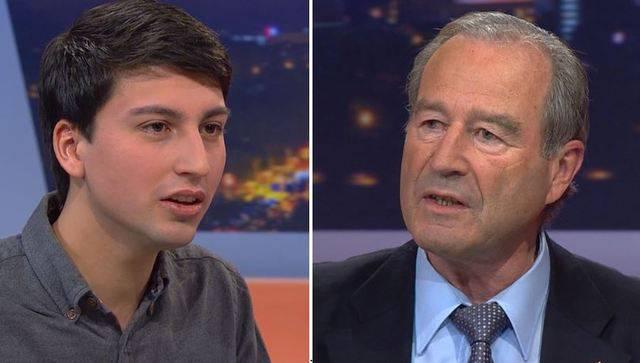 «Die Aargauer SVP hat ein Altersproblem»: In der Sendung «TalkTäglich» von vergangenem Dienstag warf Juso-Präsident Fabia Molina und Reimann vor, die SVP verweigere sich der Nachwuchsförderung.