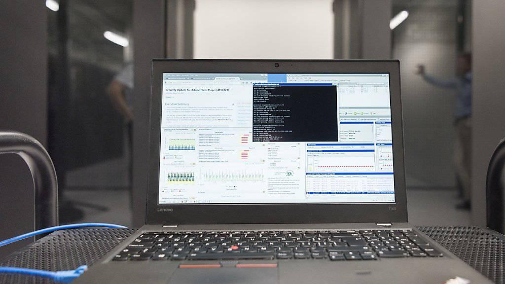 Die Schweiz belegt beim Internetzugang weiterhin einen Spitzenplatz. (Archivbild)