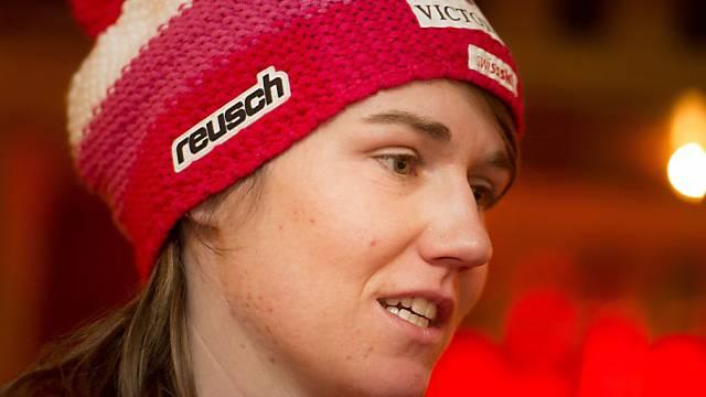 Fabienne Suter wird im ersten Training Vierte