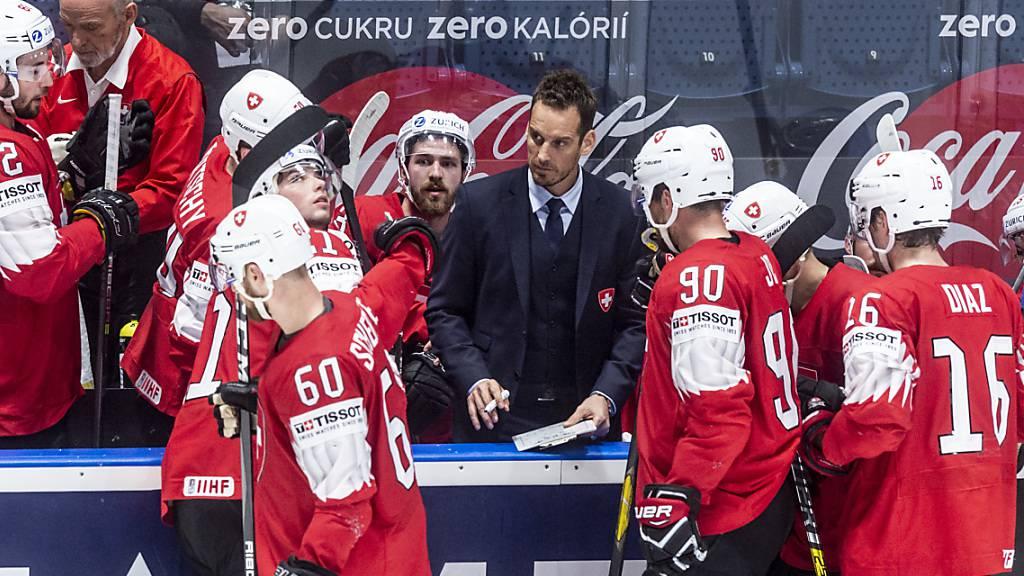 Die Schweizer Nationalmannschaft bestreitet die Vorrunde an der WM 2021 in Minsk