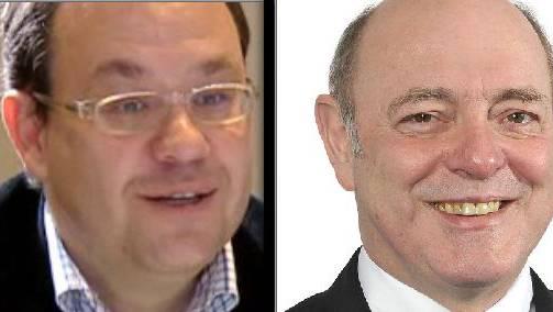 Philippe Gilomen (l.) ist nicht mehr Vorstand der Mehrwertnummern-Lobby SAVASS. Der Verein wird von Ulrich Giezendanner präsidiert.