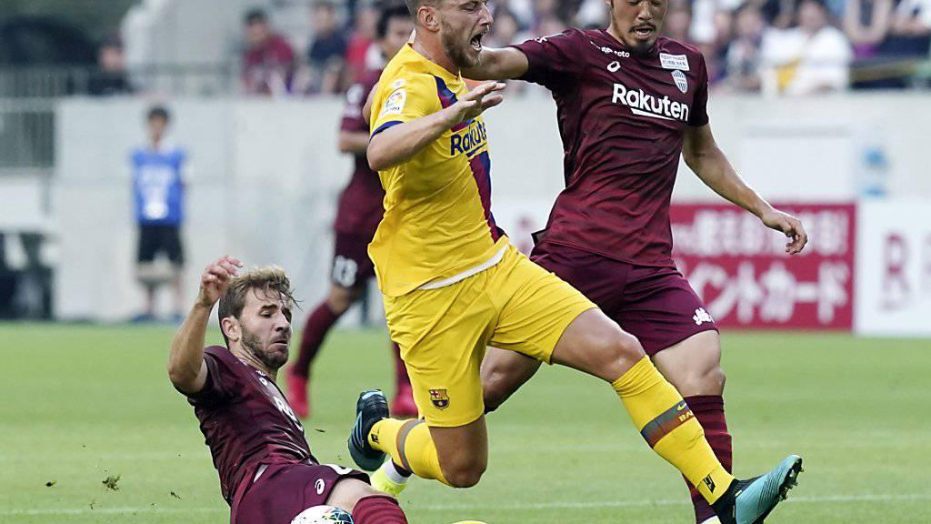 Ivan Rakitic ist der einzige Spieler in der höchsten spanischen Liga mit einem Schweizer Pass