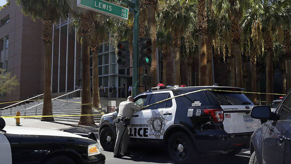 Polizei bei einem Einsatz in Las Vegas (Archiv)