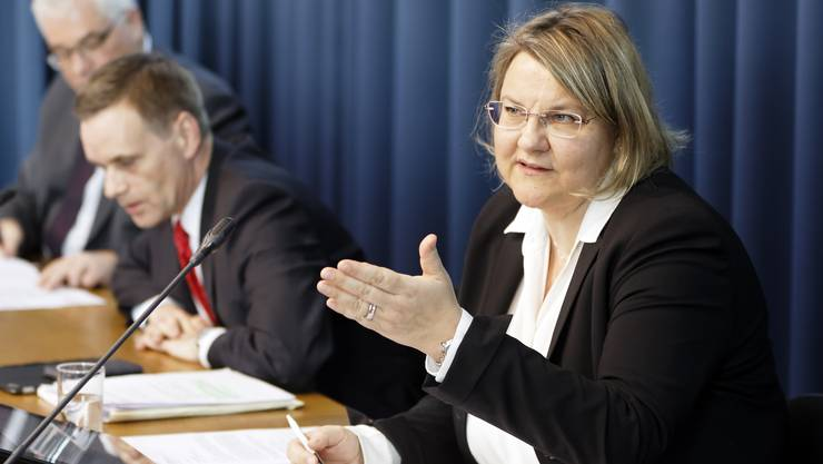 Die Aargauer Kantonsärztin informiert über die aktuelle Lage mit dem Corona-Virus im Kanton.