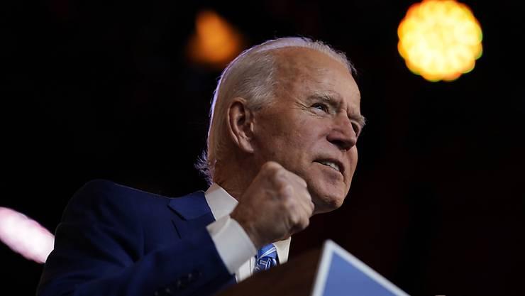 Joe Biden soll am 20. Januar als neuer Präsident vereidigt werden. Foto: Carolyn Kaster/AP/dpa