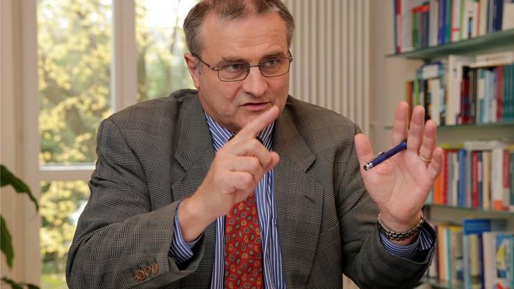 Müller: «Die Kernenergiebranche hat den Charakter von strukturierten Produkten, die aufgrund ihrer Intransparenz hohe finanzielle Risiken bergen.»KEN