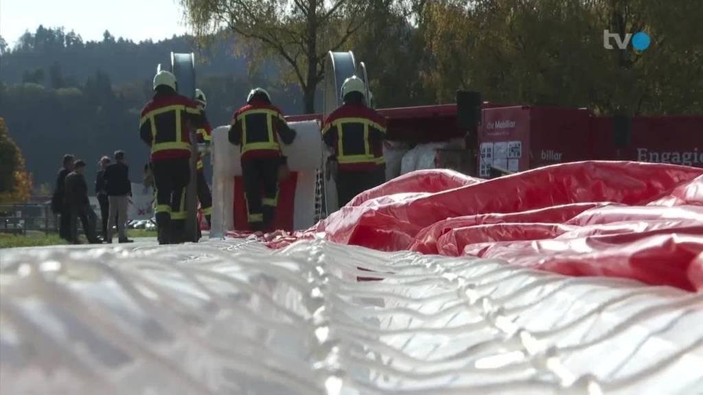 Rheintal wappnet sich mit 440-Meter-Schlauch