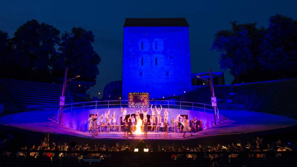 Festival Avenches Opéra nach roten Zahlen vor dem Aus