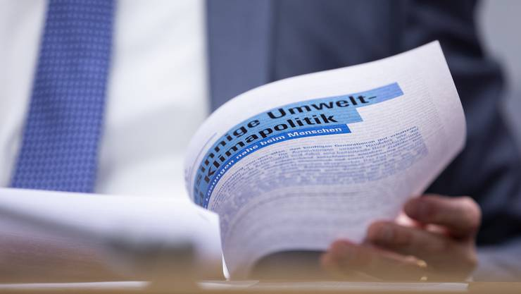 Die freisinnige Umwelt- und Klimapolitik: Gemäss dem SRG-Wahlbarometer verliert die FDP vor allem wegen ihr Wähleranteile.