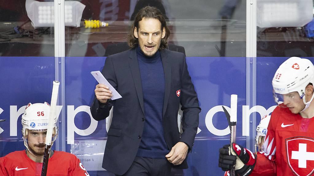 Patrick Fischer ist überzeugt, dass die Schweiz Weltmeister werden kann. Dieses Vorhaben muss er nun um ein weiteres Jahr verschieben.