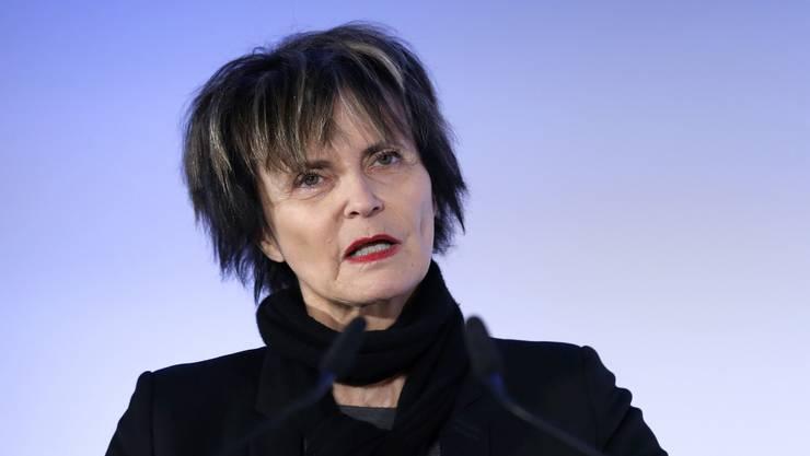 Alt-Bundesrätin Micheline Calmy-Rey: Die SVP lässt sie in ihrer Kampagne als eine Art Kronzeugin auftreten.
