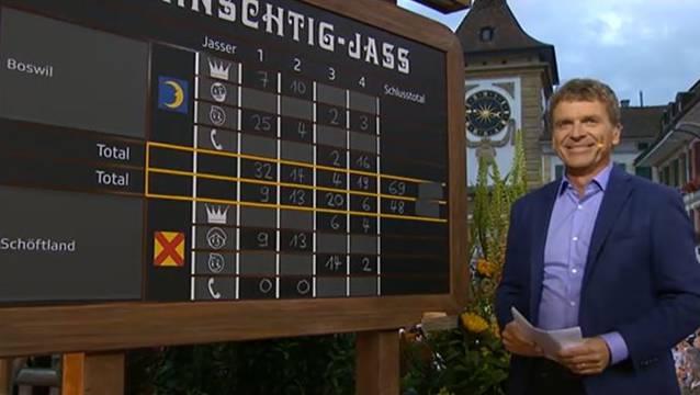 Boswil hat das Jassduell gegen Schöftland mit 69 zu 48 Differenzpunkten klar verloren.