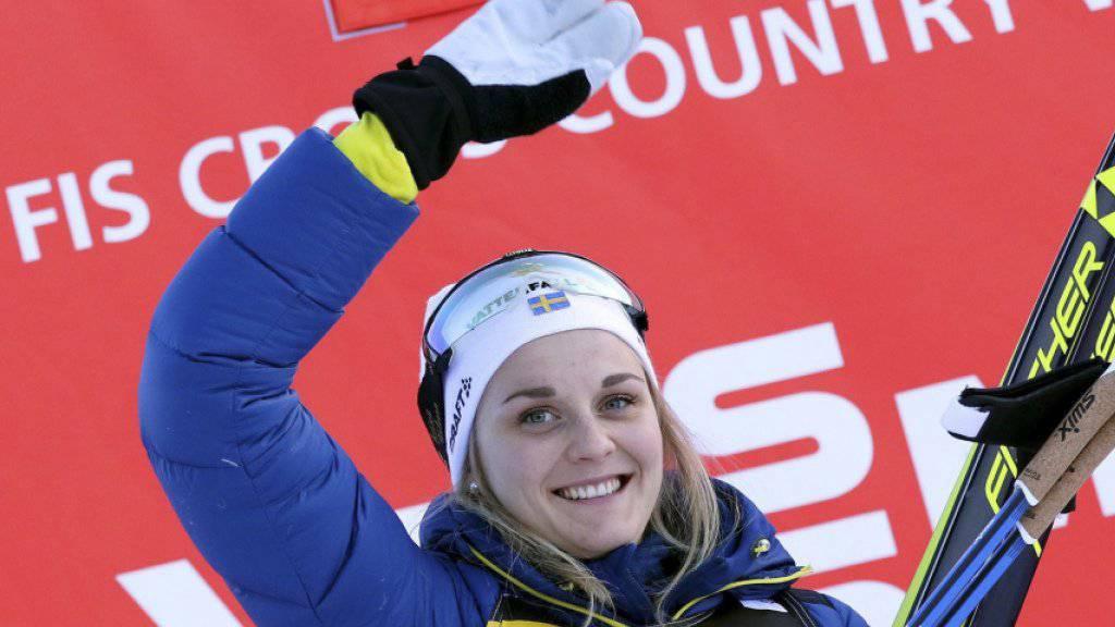 Schwedens Gold-Hoffnung: Stina Nilsson