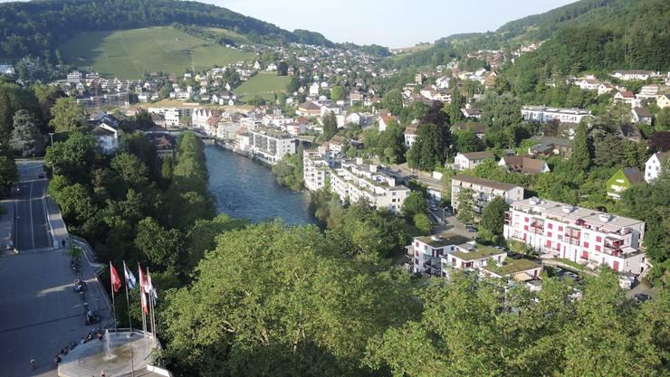 Forscher behaupten: Anzeichen für eine Immobilienblase gibt es nicht in den Grossstädten, sondern in deren Einzugsgebiet – etwa in Baden und Ennetbaden.