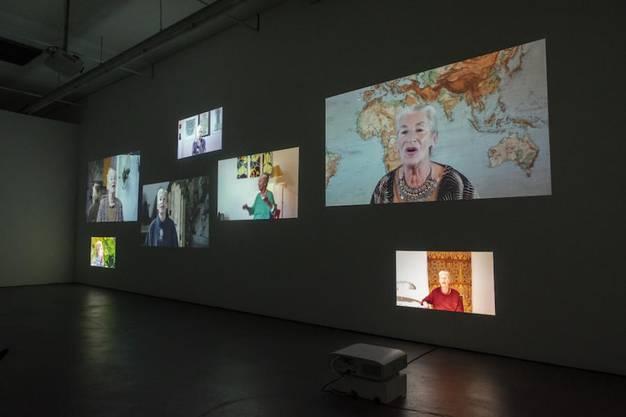 Muda Mathis, Sus Zwick und Hipp Mathis thematisieren im Kunsthaus Baselland das Leben der Baslerin Germaine Winterberg.