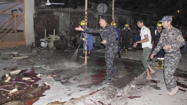 Ort des tödlichen Anschlags in Basra