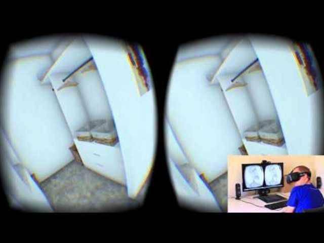 Wohnungsbesichtigung 2.0: Mit der Virtual-Reality-Brille durchs neue Eigenheim.