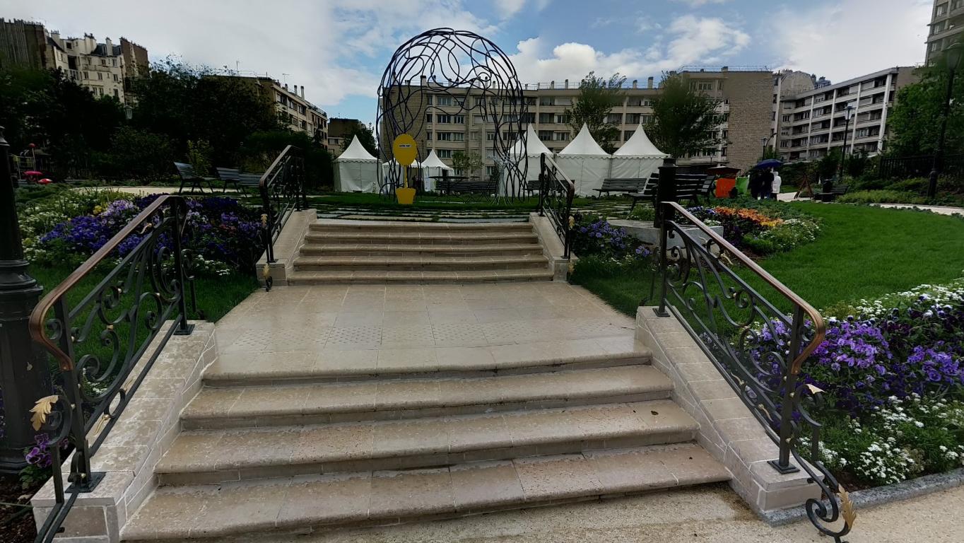Hier, am Place des Panchettes, soll der Angriff passiert sein.