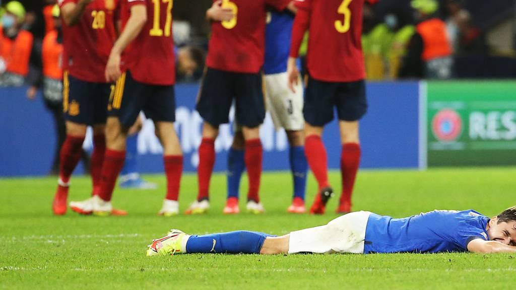 Nach 37 Spielen: Europameister Italien verliert gegen Spanien