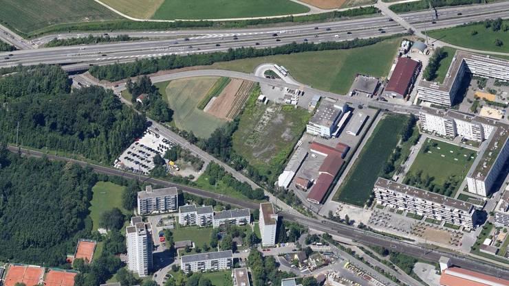 Diese Parzelle möchte die Stadt Zürich als Baulandreserve kaufen.