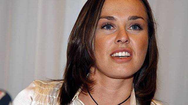 Hingis - bald in Reality-Show (Archiv)