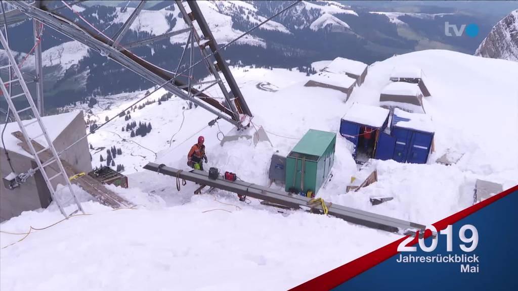 Schnee, Barnetta und HSG - das war der Mai 2019