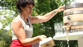 Doris Leuthard feiert ihren 50. Geburtstag