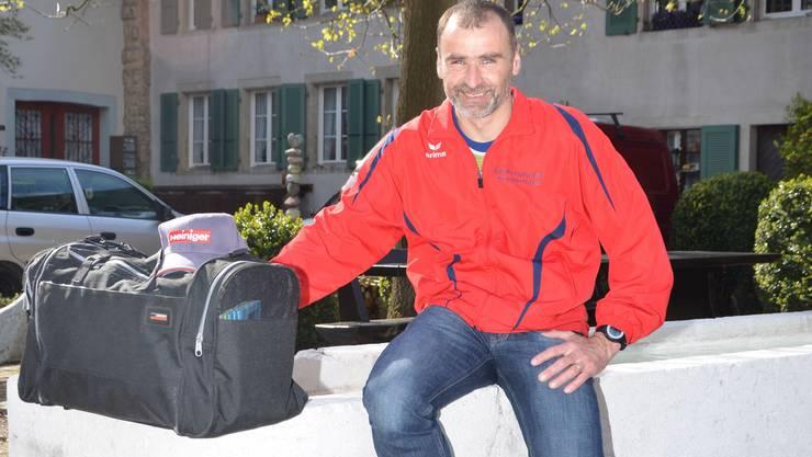Emil Berger ist bereit für seinen Jubiläumslauf in seiner Heimat.