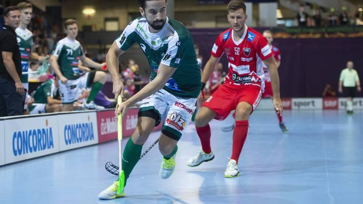 Unihockey wird ab und zu vom Schweizer Fernsehen übertragen.