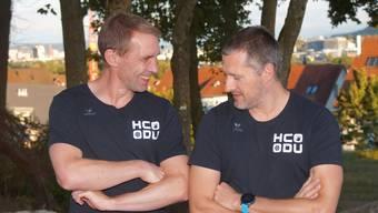Peach Rusert (links) und Tobias Zatti kennen und schätzen sich seit Jahrzehnten.