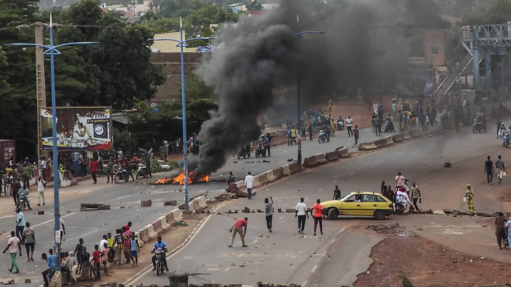 Tote und Verletzte bei Protesten in Malis Hauptstadt