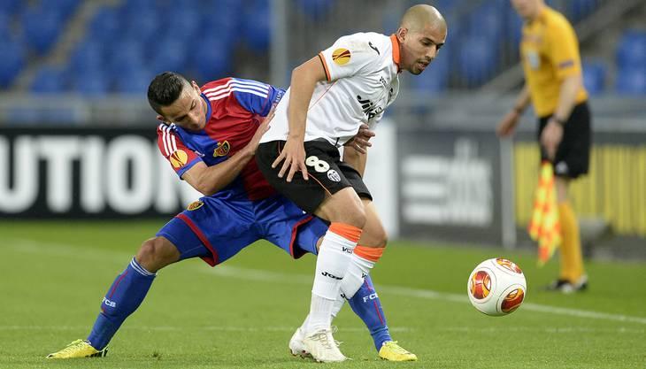 Die Spieler von Valencia hatten keine Chance gegen ihn. Der 20-Jährige hatte sie alle im Griff.