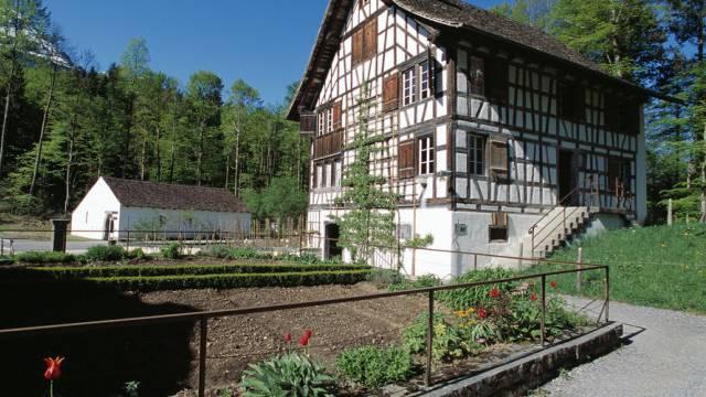 Ballenberg: Um 1780 erbautes Weinbauernhaus aus Richterswil ZH
