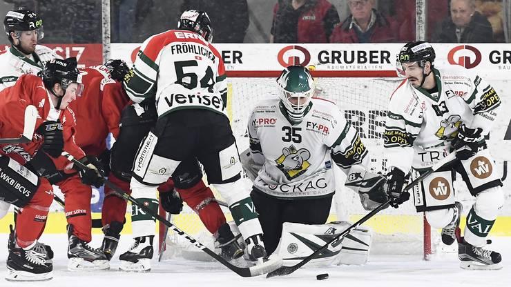 Mann des Spiels: EHCO-Torhüter Matthias Mischler war einmal mehr überragend.