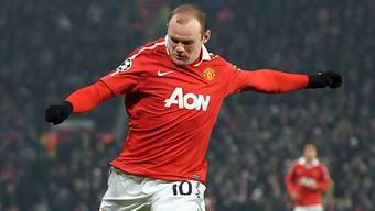 Remis für ManU mit Wayne Rooney