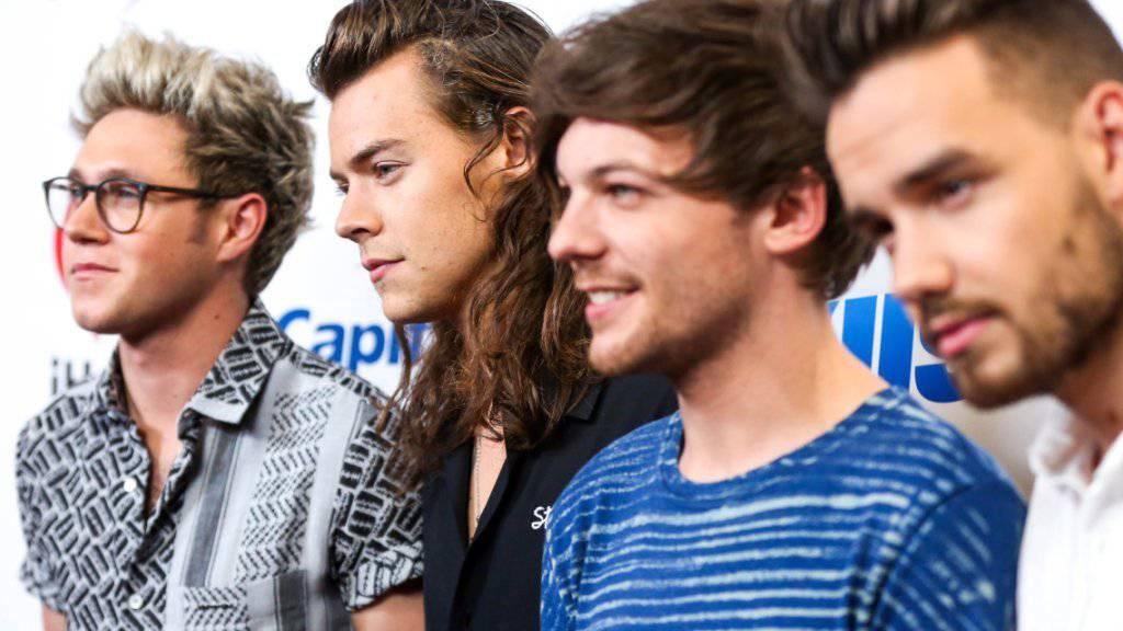 Die Mitglieder der Boygroup One Direction nehmen sich 2016 eine Auszeit. (Archivbild).