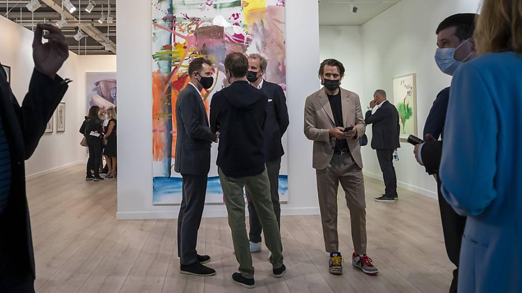 Zahlreiche Millionen-Verkäufe am ersten Tag der Art Basel
