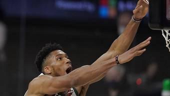 Der Überflieger der letzten NBA-Saison: Milwaukees Giannis Antetokounmpo