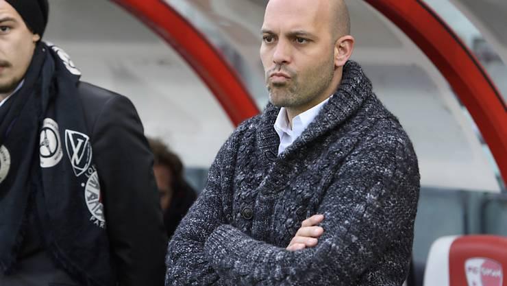 Erhielt offensive Verstärkung: Sions Trainer Gabri