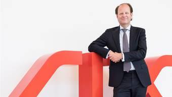 Jos Dijsselhof, seit einem Jahr der CEO der SIX, am 19. Juni 2018 in Zürich. CHRISTIAN BEUTLER/KEYSTONE