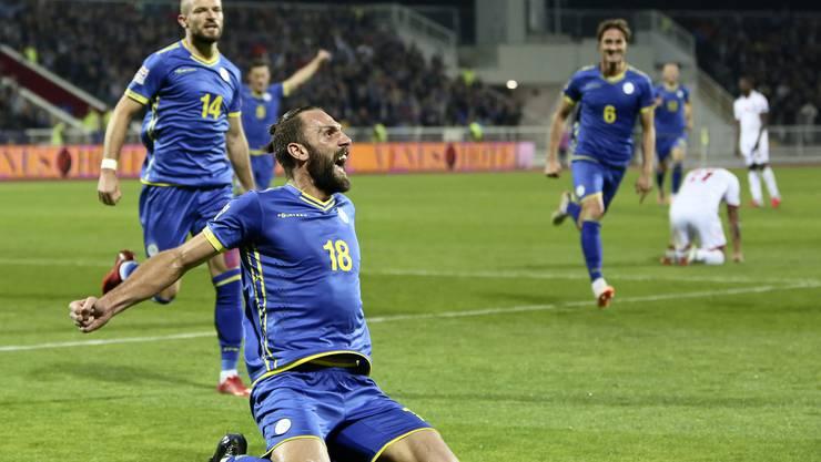 Der Kosovo jubelt...