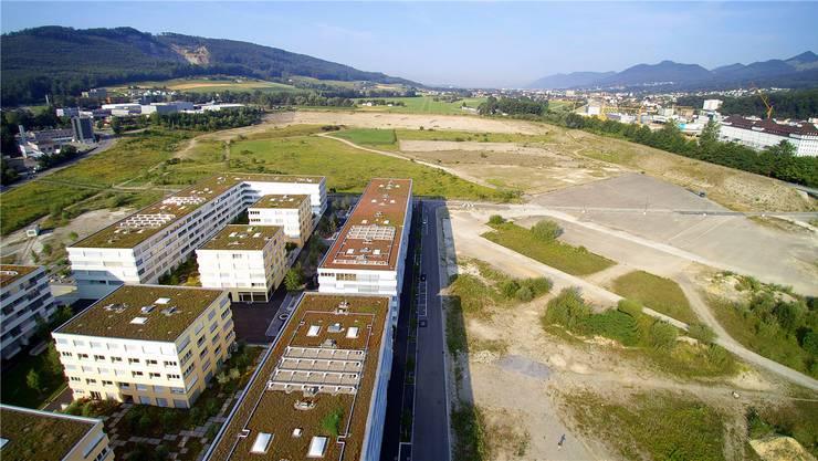 Bis ins Jahr 2055 könnte das gesamte 240 000 m2 grosse Areal von Olten SüdWest laut Modellberechnungen überbaut sein.