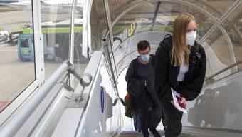 Die Fluggesellschaft Lufthansa führt versuchsweise Schnelltests ab Oktober ein