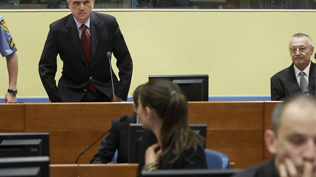 UN-Tribunal: Zwölf Jahre Haft für serbische Ex-Sicherheitschefs