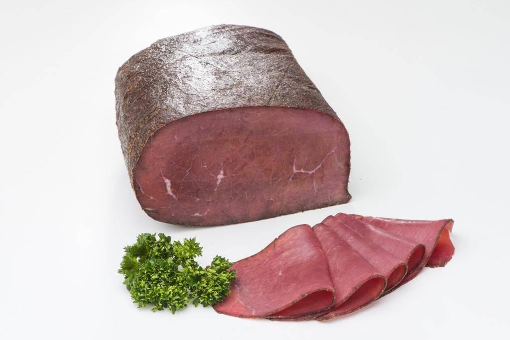 Das Appenzeller Mostbröckli wird aus Rindfleisch hergestellt (© Metzgerei Breitenmoser)
